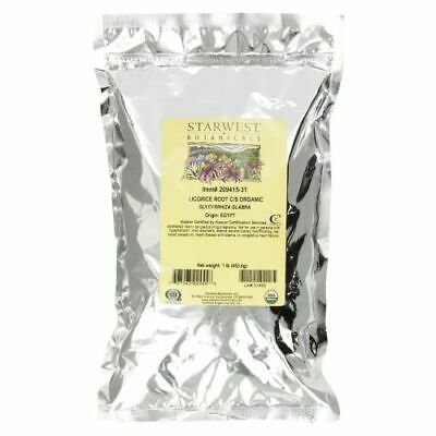 Organic Licorice Root C/s 1 Lb  By Starwest Botanicals • 18.34£