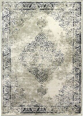 £44.95 • Buy Beige Rug Classic Vintage Design Traditional Faded Distressed Aged Timeless