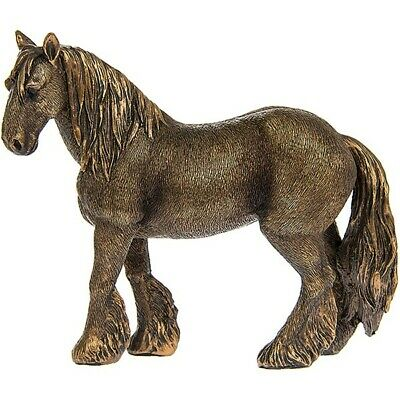 Reflections Small Bronzed Shire Horse Rustic Collection Figure Boxed Gift  • 14.95£