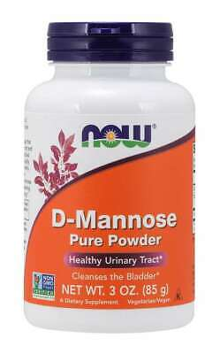 AU42.90 • Buy Now Foods D-Mannose, Urinary Tract Health UTI, Powder 85g, 40 Serve