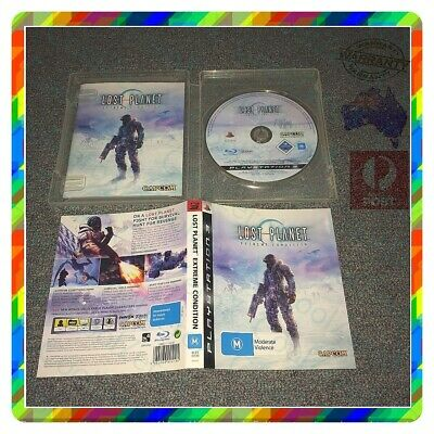 AU35.93 • Buy Lost Planet Extreme Condition PS3 Sony Playstation 3