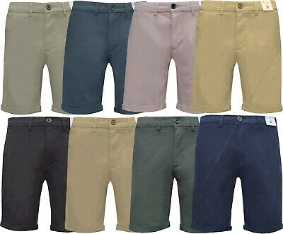 £11.95 • Buy New Mens Chino Shorts Casual Stretch Skinny Fit Cotton Summer Half Pants 32 -42