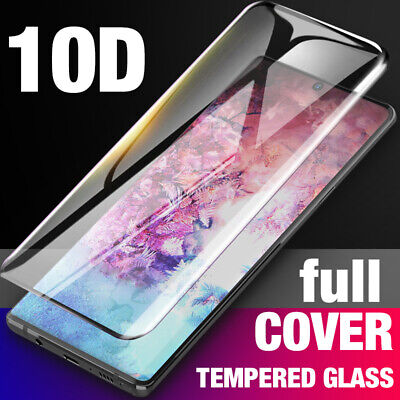 $ CDN3.89 • Buy For Samsung Galaxy Note 10 Plus Full Cover Tempered Glass Screen Protector US AN