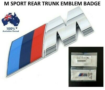 AU13.45 • Buy 1x Replacement M Sport Logo Badge Sticker Bmw Boot Trunk M1 M2 M3 M5 M6 Esl