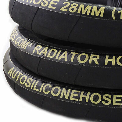 Rubber Radiator Coolant Heater Hoses - Water Air Reinforced EPDM Pipe Tube • 4.19£