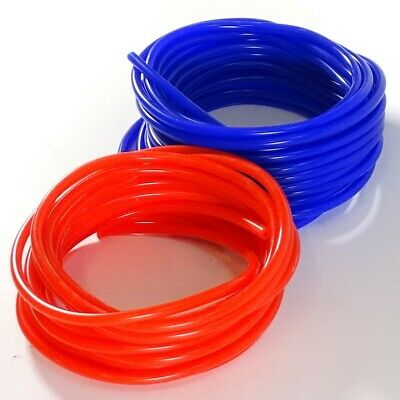 Silicone Vacuum Hose Breather Pipes - Rubber Tubes Washer Tube Silicon Air Water • 0.99£