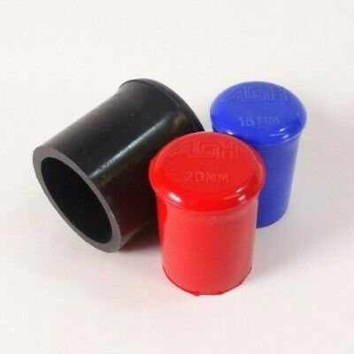 Silicone Moulded End Caps - Finishing Cap Blanking Plugs Pipe Finisher • 7.20£