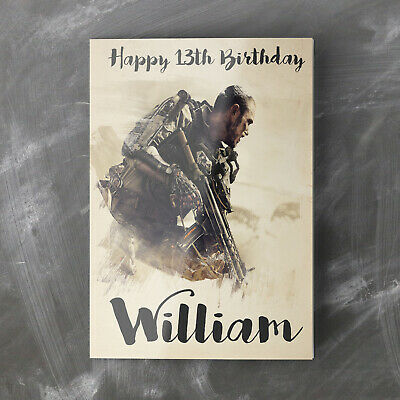 £2.85 • Buy CALL OF DUTY Personalised Birthday Card For Boys Son Grandson Nephew Dad Father