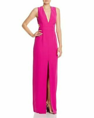 $33.74 • Buy Aidan By Aidan Mattox V-Neck Front-Slit Gown MSRP $195 Size 6 # 1A 935 NEW