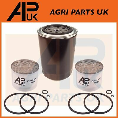 £16.94 • Buy Oil & Fuel Filter Set For Ford 2000 2600 3000 3600 4000 4600 5000 5610 Tractor