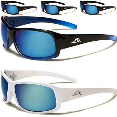 Golf Sports Mirrored Sunglasses Wrap Running Mirror Ski Tennis Men's Womens • 10.89£