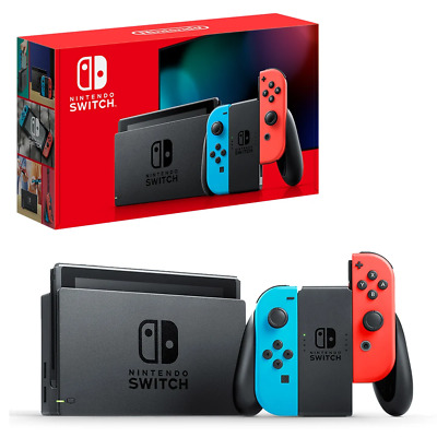 AU484.95 • Buy Nintendo Switch Neon Joy-Con Console NEW