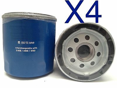 AU12 • Buy 4X Oil Filter Suits RYCO Z418  // (F418