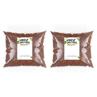 AU33.44 • Buy Organic Red Quinoa 2kg -Forest Whole Foods