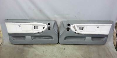 $625 • Buy BMW E36 2dr 1998-1999 Front Interior Door Panels Stitched Grey Leather W Airbag