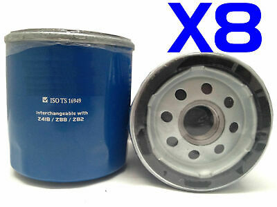 AU21 • Buy 8X Oil Filter Suits RYCO Z418 // (F418