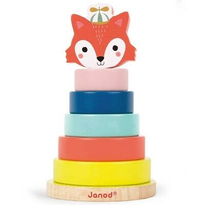 Janod Baby Forest Fox Stacker • 12.98£