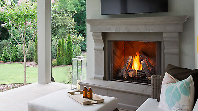 $2269 • Buy Majestic Courtyard Outdoor Gas Fireplace 36  ODCOUG-36 Free Shipping Traditional