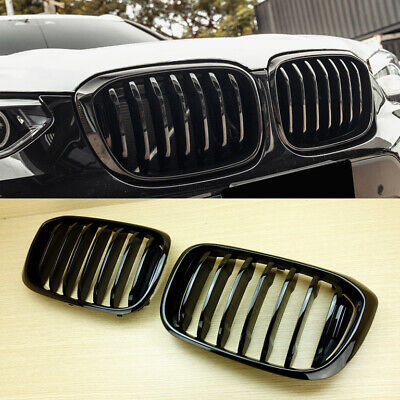 AU167.60 • Buy 2019-2022 Shiny Black Front Grille Fit BMW X-Series X3 X3M G01 X4 G02 SUV