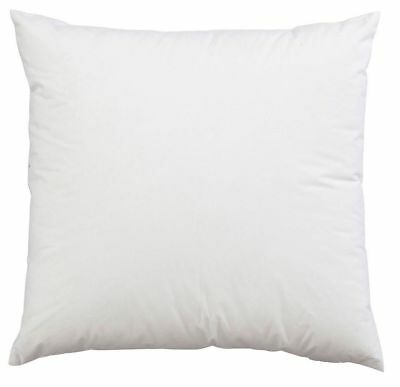 17  X 17  Inch Square Cushion Inner Pads OVER FILLED Set Of 4 Non Allergenic   • 7.99£