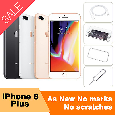 AU622.25 • Buy AS NEW  APPLE IPhone 8 Plus 64GB 256GB Excellent Condition