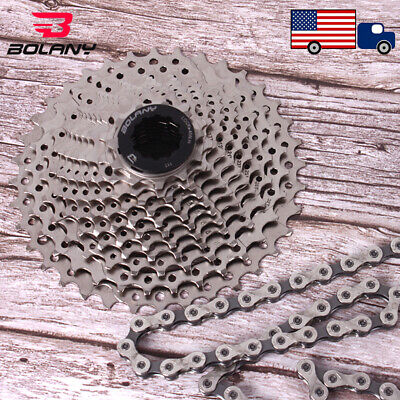 AU46.28 • Buy KMC 8/9/10/11Speed Road Bike Cassette Chain 11-25/28/32/36T Sprocket Chains Cogs