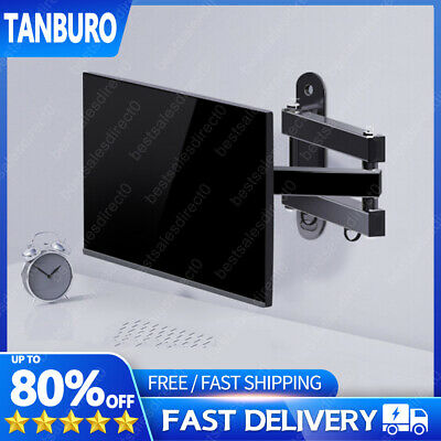 VESA 200x200mm Full Motion TV Wall Mount Fixed Bracket Fr 26-55  LCD Monitor TFT • 12.62£