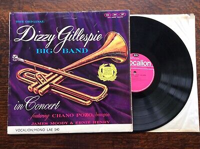 Dizzy Gillespie Vinyl LP Album Record In Concert UK LAE540 VOCALION 1963 • 5.99£