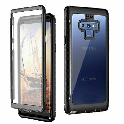 AU28.58 • Buy Built-in Screen Protector Full Body Case For Samsung Galaxy S20 S9 S8 S10 Plus