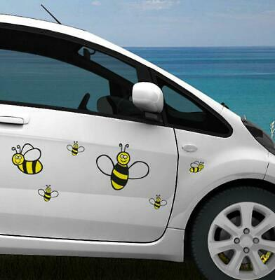 16 Pack Bumble Bee Stickers Decal Tile Car Wall Decor Laptop Home Children • 5.49£