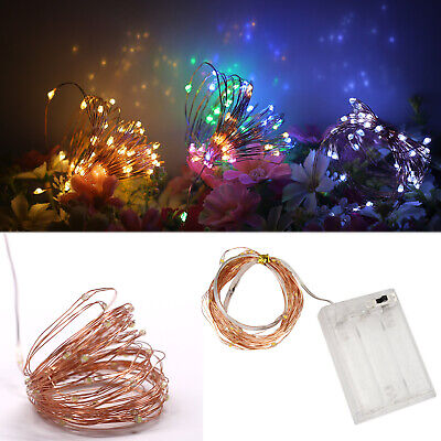 $3.79 • Buy LED Strip String Fairy Light Copper Wire Battery Powered Xmas Party DIY Decor RD