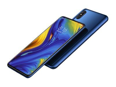 $713.98 • Buy Xiaomi Mi Mix 3 Blue 128GB 6.39  12MP 6GB RAM Octa-core Android Phone By FedEx