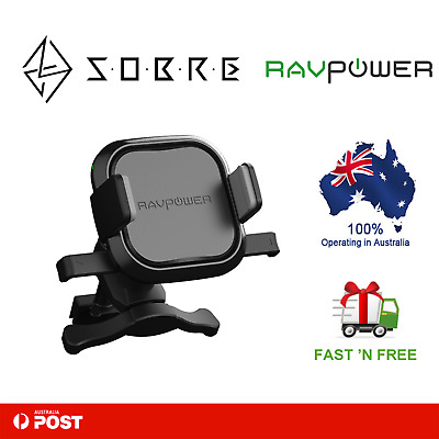 AU35.95 • Buy RAVPower 5W Wireless Charging Car Mount Holder Charger Qi Devices IPhone Samsung