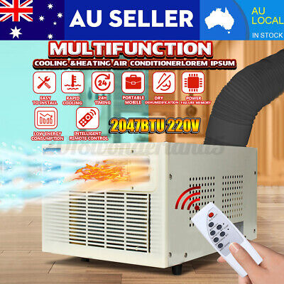 AU279.99 • Buy AU 900W Window Wall Box Refrigerated Air Conditioner Cooling Heating Air Filter