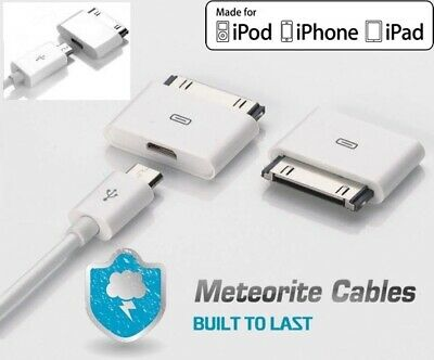 £5.17 • Buy 2X Micro USB Female To 30pin Male Charger Adapter For IPad/iPod/iPhone 4 S