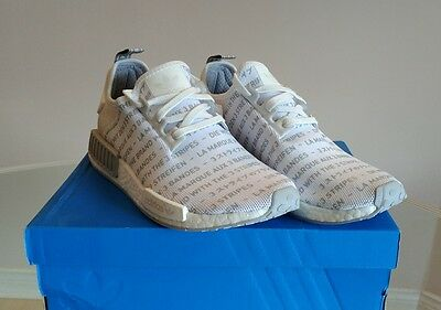 $ CDN250 • Buy Adidas NMD R1  Whiteout   Brand With The Three Stripes  S76518 Size 9.5