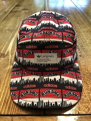 $ CDN31 • Buy Vintage 80's Adidas Run DMC 5 Panel Hat One Size Fits Most Great Condition