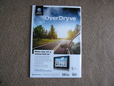 Rand Mcnally OverDryve Road Atlas 2018 America's BEST Travel Maps Made In USA • 9.97£