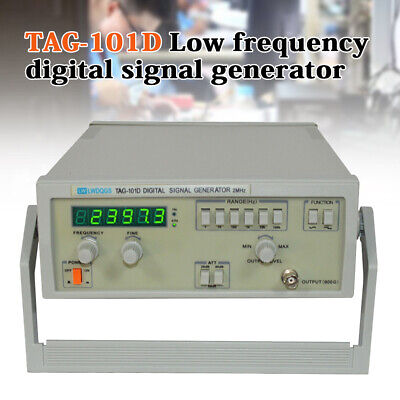 TAG-101D Digital Display Function Signal Generator 0.2Hz-2MHz Accurate Frequency • 105$