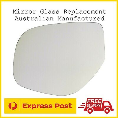 AU29.95 • Buy Mitsubishi Outlander GF GG ZJ ZK 2012-2019 Left Passengers Side Mirror Glass Rep