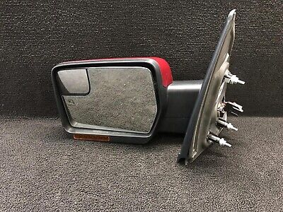 $280 • Buy 09-14 F-150 Left Driver Door Side View Mirror Power  Fold/Heated  Oem