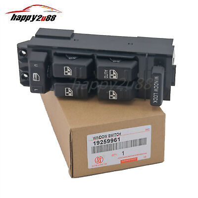 $12.35 • Buy New Electric Window Master Switch 19259961 For Tahoe Yukon Suburban Avalanche