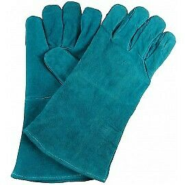 SWP Green Leather MIG Welding Gloves Size 10 1 Pair • 6.99£
