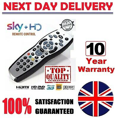 £5.25 • Buy 100% New, GENUINE SKY+ PLUS HD REV 9 TV REPLACEMENT Remote + FREE Delivery 2021