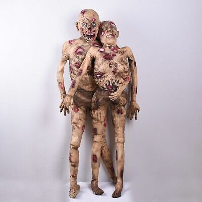 $ CDN186.71 • Buy Creepy Zombie Haunted House Halloween Decorations Scary Props Horror Ghost Craft