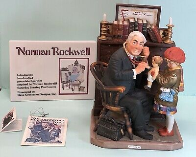 $ CDN1596.77 • Buy Norman Rockwell Doctor And The Doll #NR100 By Dave Grossman Designs LTD ED