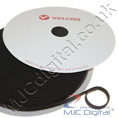 VELCRO® ONE-WRAP® Double-Sided Hook & Loop Cable Tidy Straps 10mm 20mm 50mm Wide • 2.49£