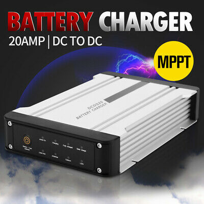 AU169.99 • Buy 20A DC To DC Battery Charger MPPT 12V Dual Battery System Kit Isolator Solar