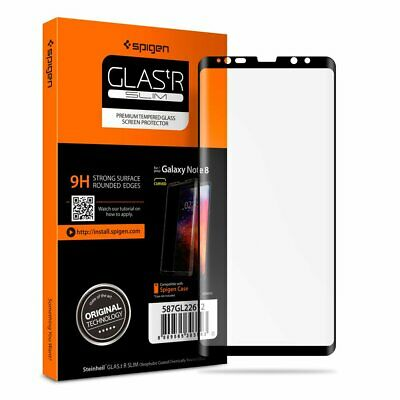 $ CDN22.87 • Buy Spigen Screen Protector Curved Edge Tempered Glass For Samsung Galaxy Note 8