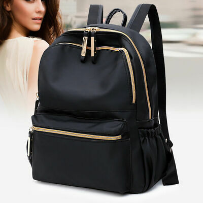 Ladies Shoulder School Bags Rucksack PU Leather Handbag Pack Travel Bag  Fashion • 7.99£